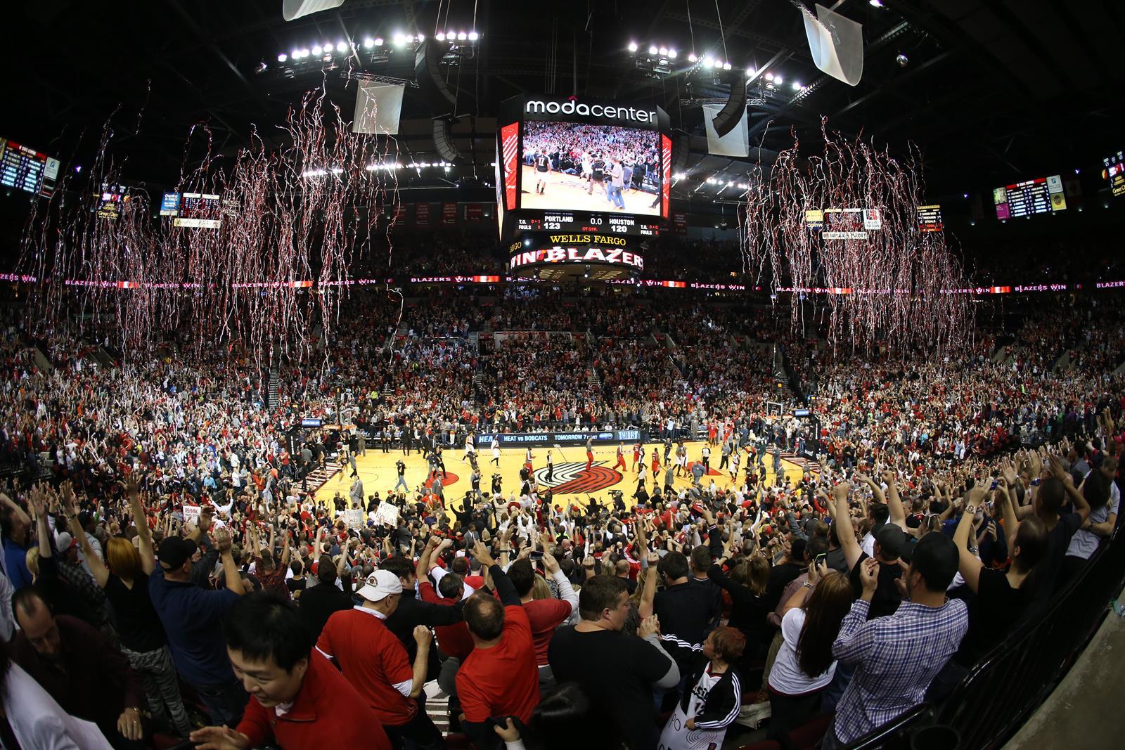 Moda Center_Blazers Game_NBA