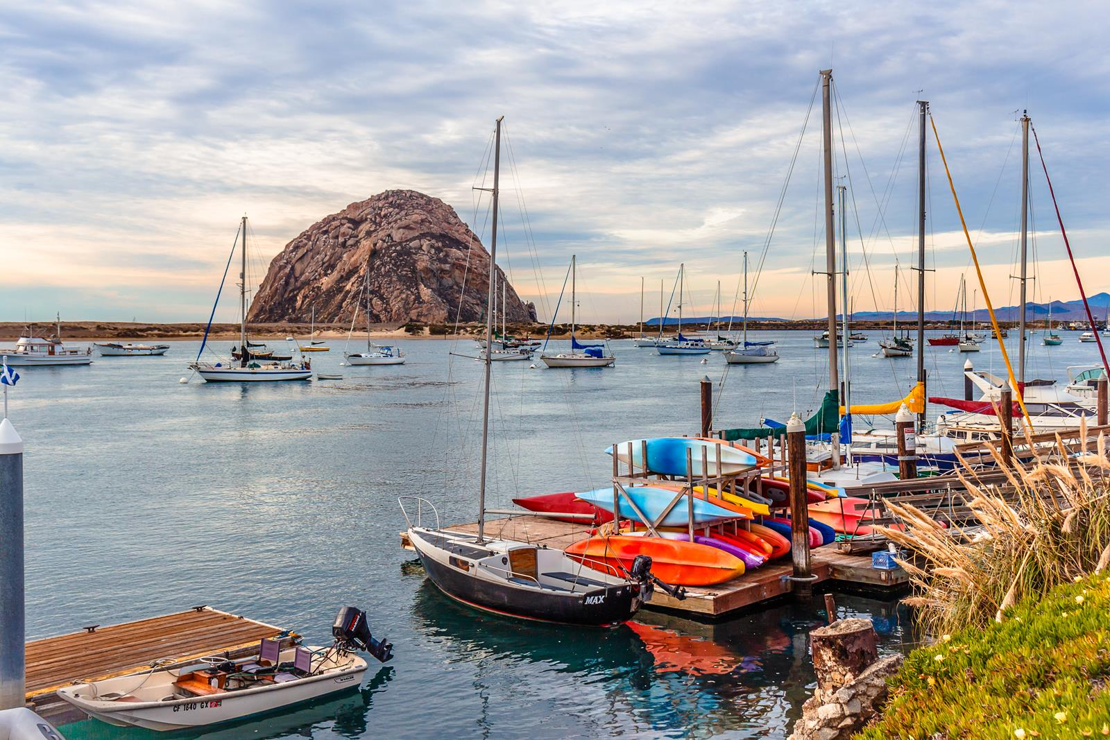 Morro Rock 2 by Danna Dkystra Coy