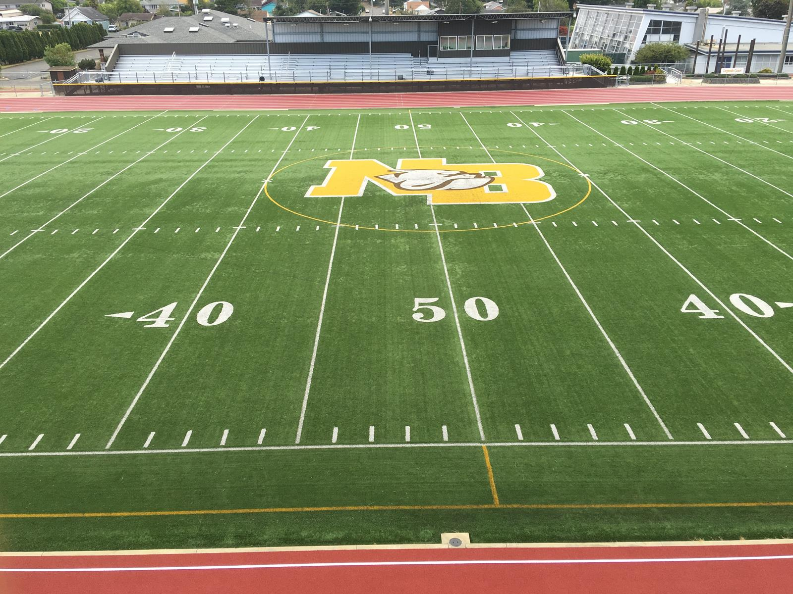 North Bend HS New Track