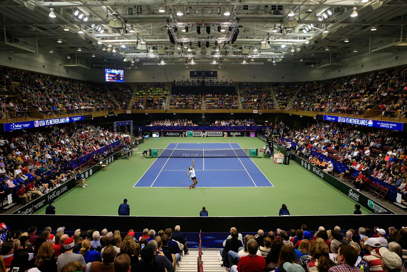 U.S. Cellular Center Fed Cup Arena View