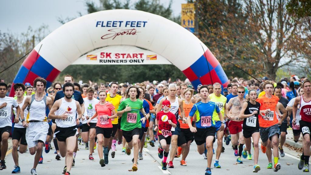 Savannah bridge run start