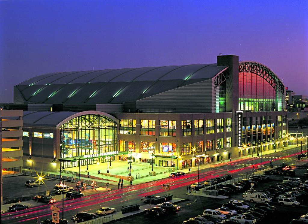 Bankers Life Fieldhouse. Photo courtesy of VisitIndy
