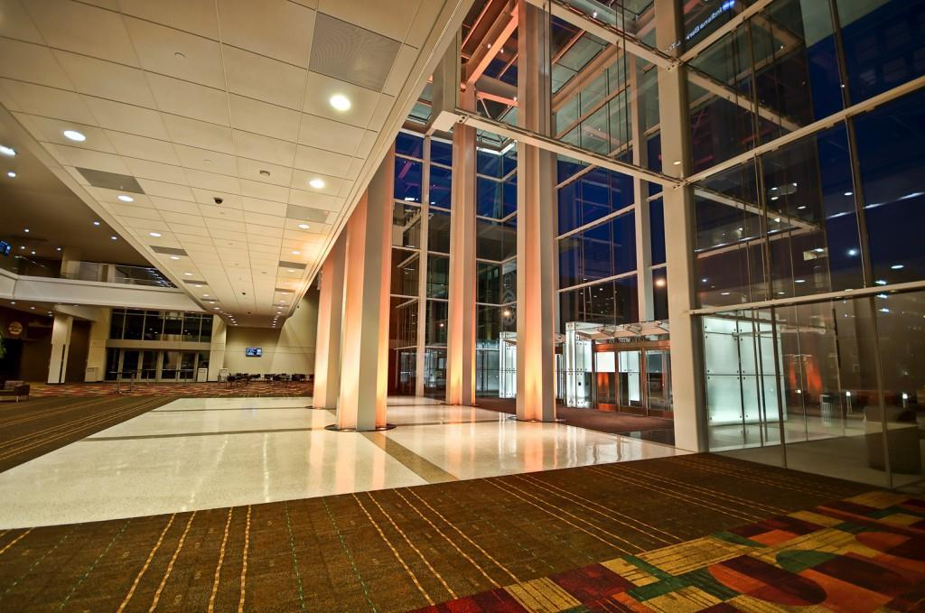 Indiana Convention Center. Photo courtesy of Lavengood Photography