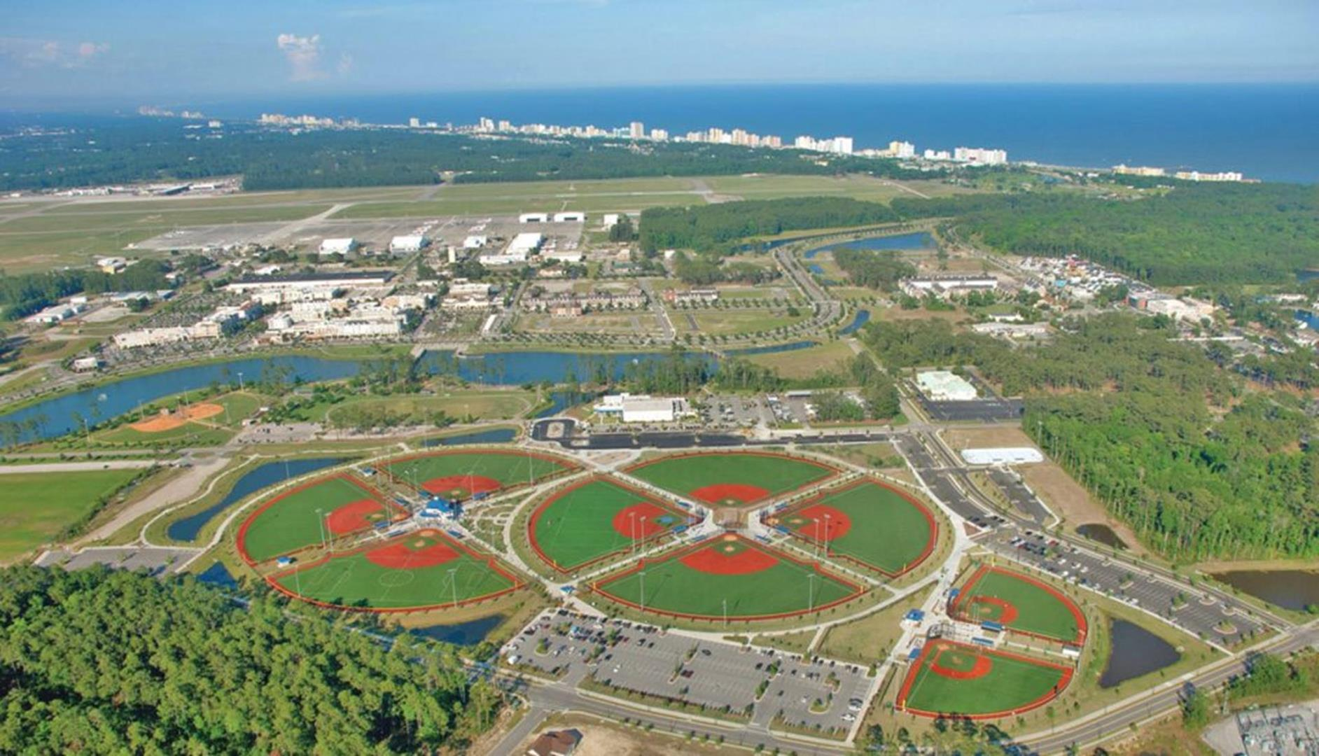 Though The Midwest Region Is Rising In Youth Baseball Tournament Ranks Myrtle Beach South Carolina Still Seems To Attract Most Attention When