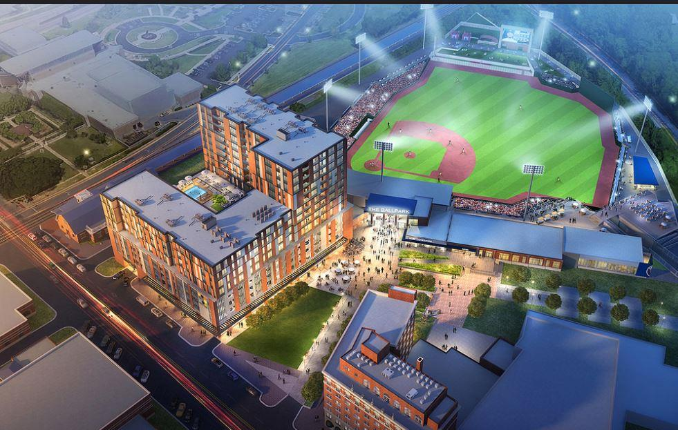 Houston Astro's Baseball Stadium