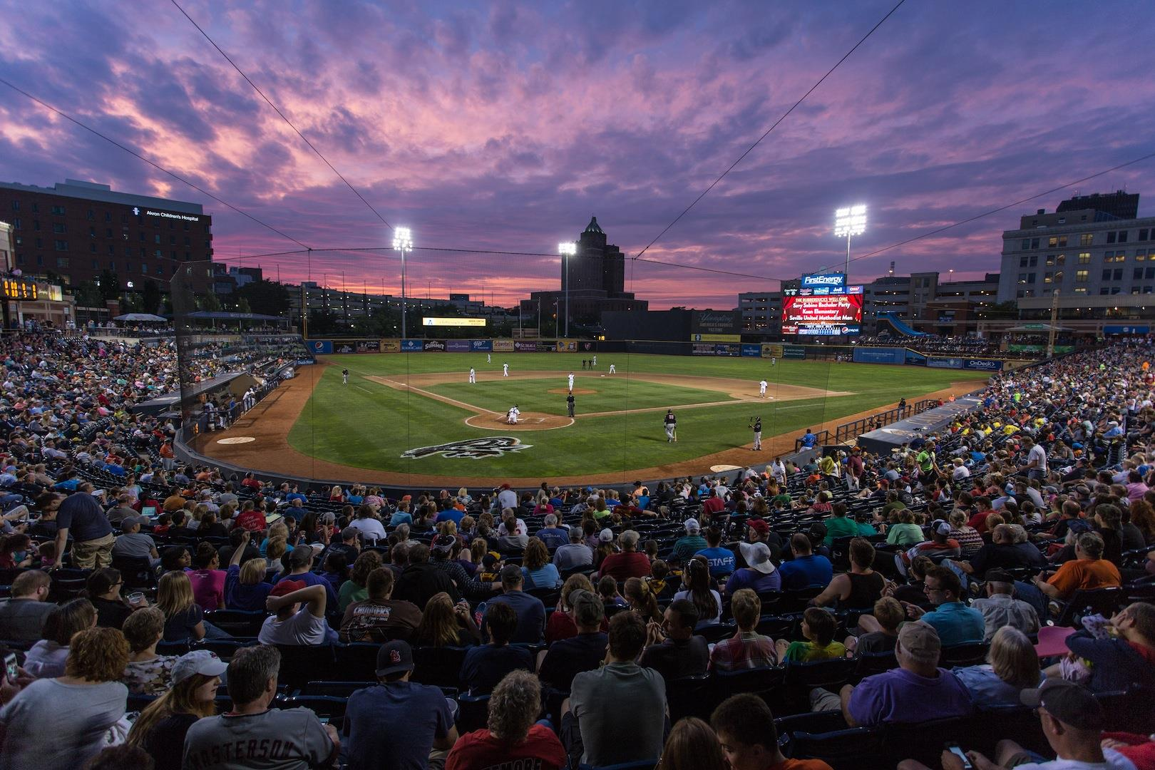 Greater Akron is a Heavy Hitter in the World of Sports