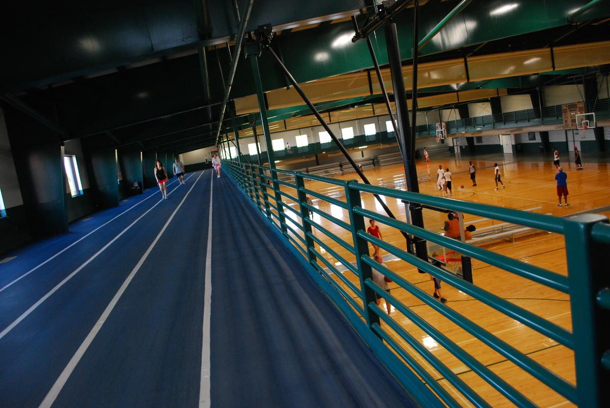 McGee Center track & court