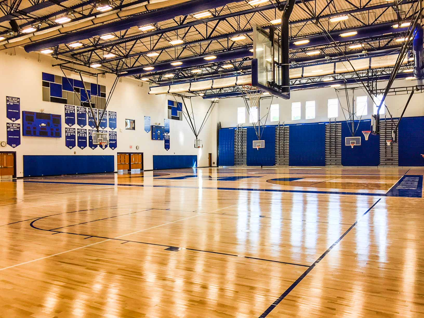 Mooresville High School Gym