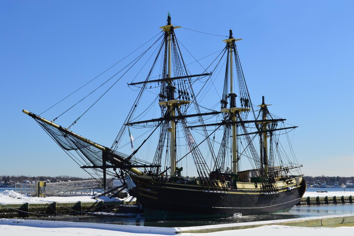 The Salem Maritime National Historical Site (below, right) tells the stories of sailors and merchants.
