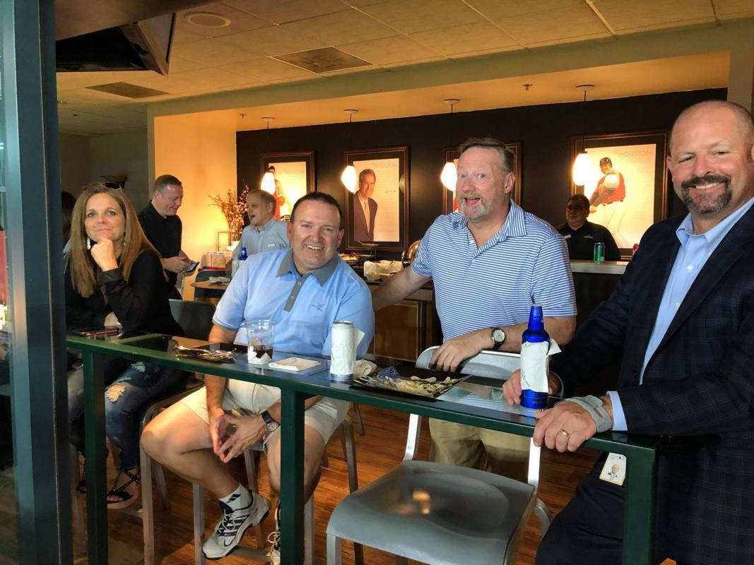 CSEE attendees enjoy the suite life.