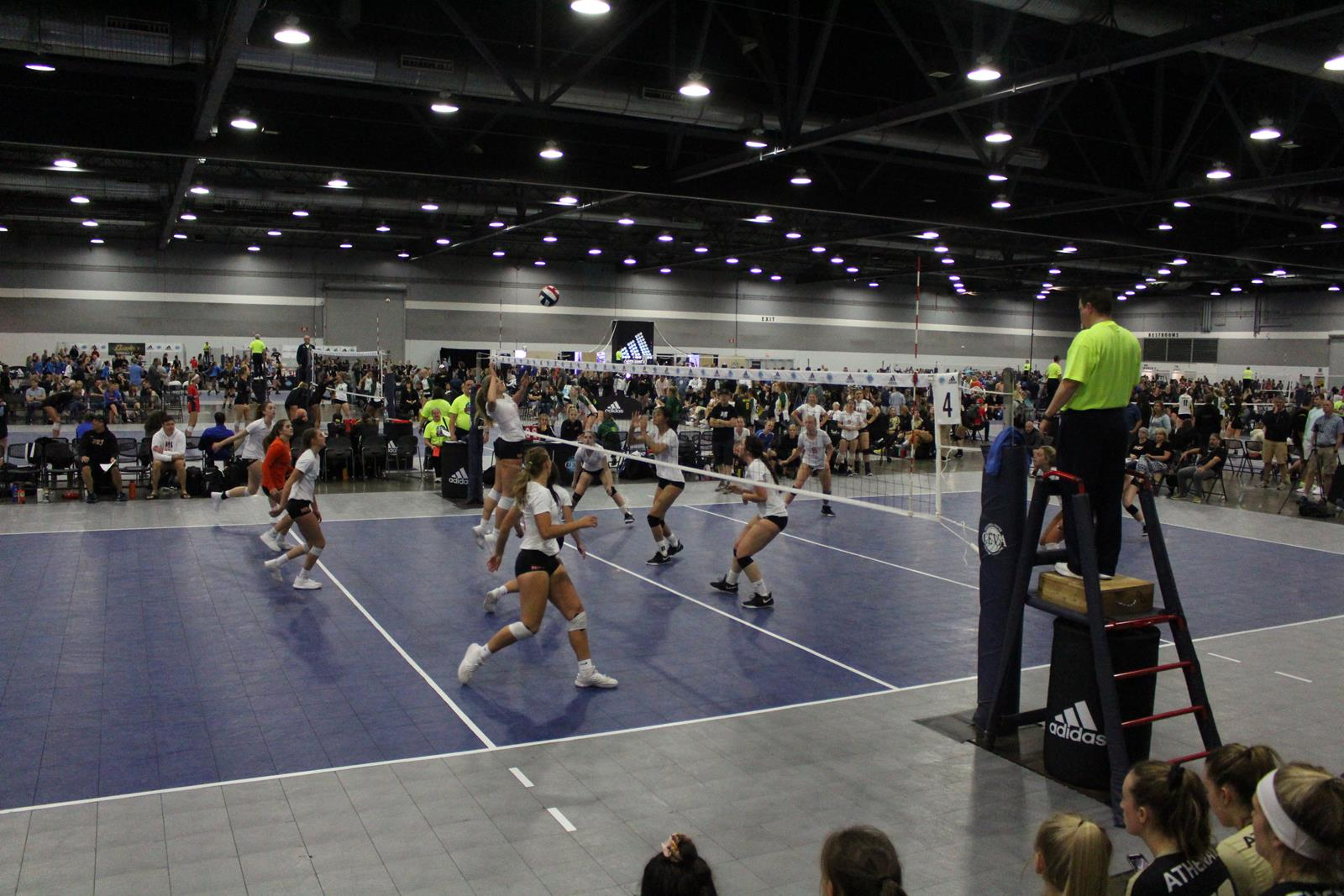 Portland Expo Center_Volleyball_Photocredit-Portland Expo Center