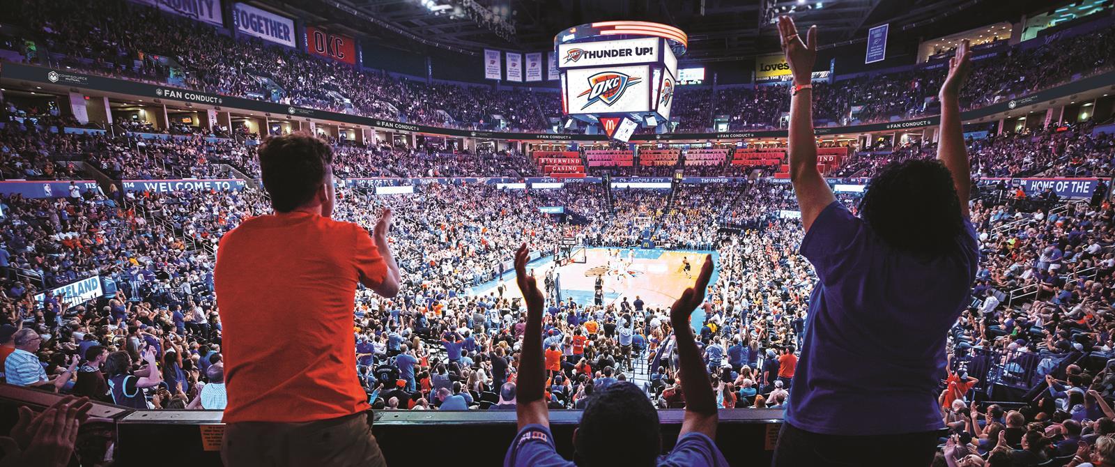 Chesapeake Arena_Copyright OKC Thunder
