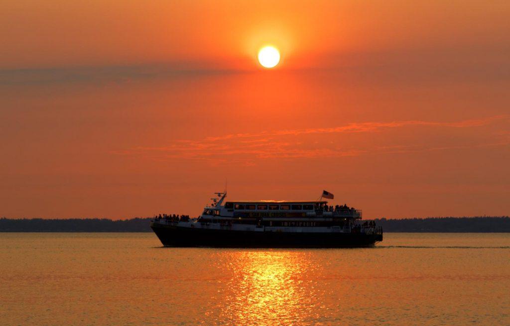 San Juan Cruises Sunset_Credit Eric Creitz & San Juan Cruises