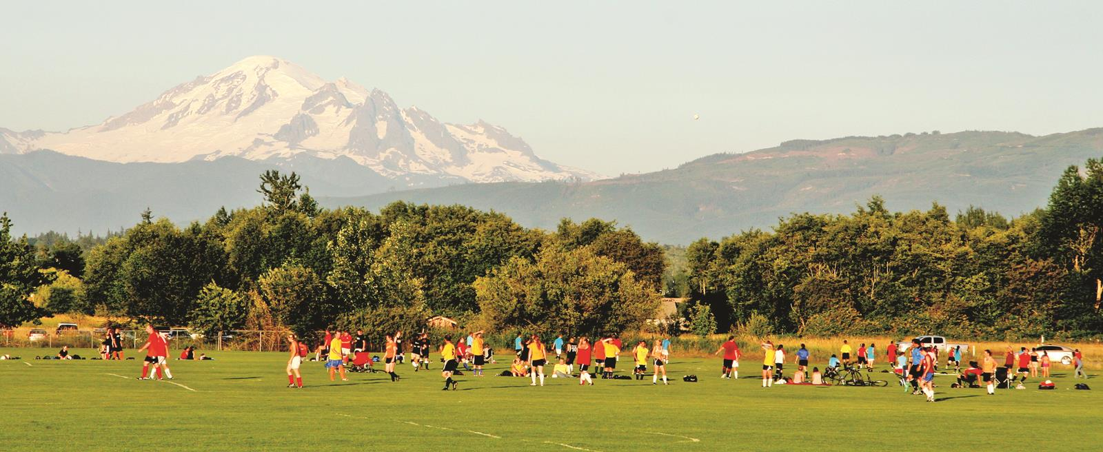 Soccer Fields in Whatcom County