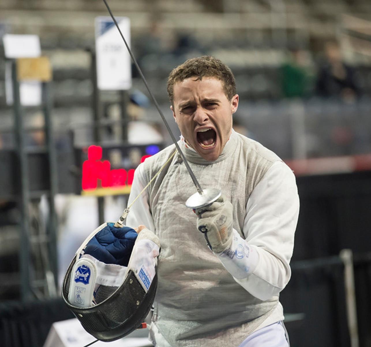 2017 NCAA Fencing-----ISC