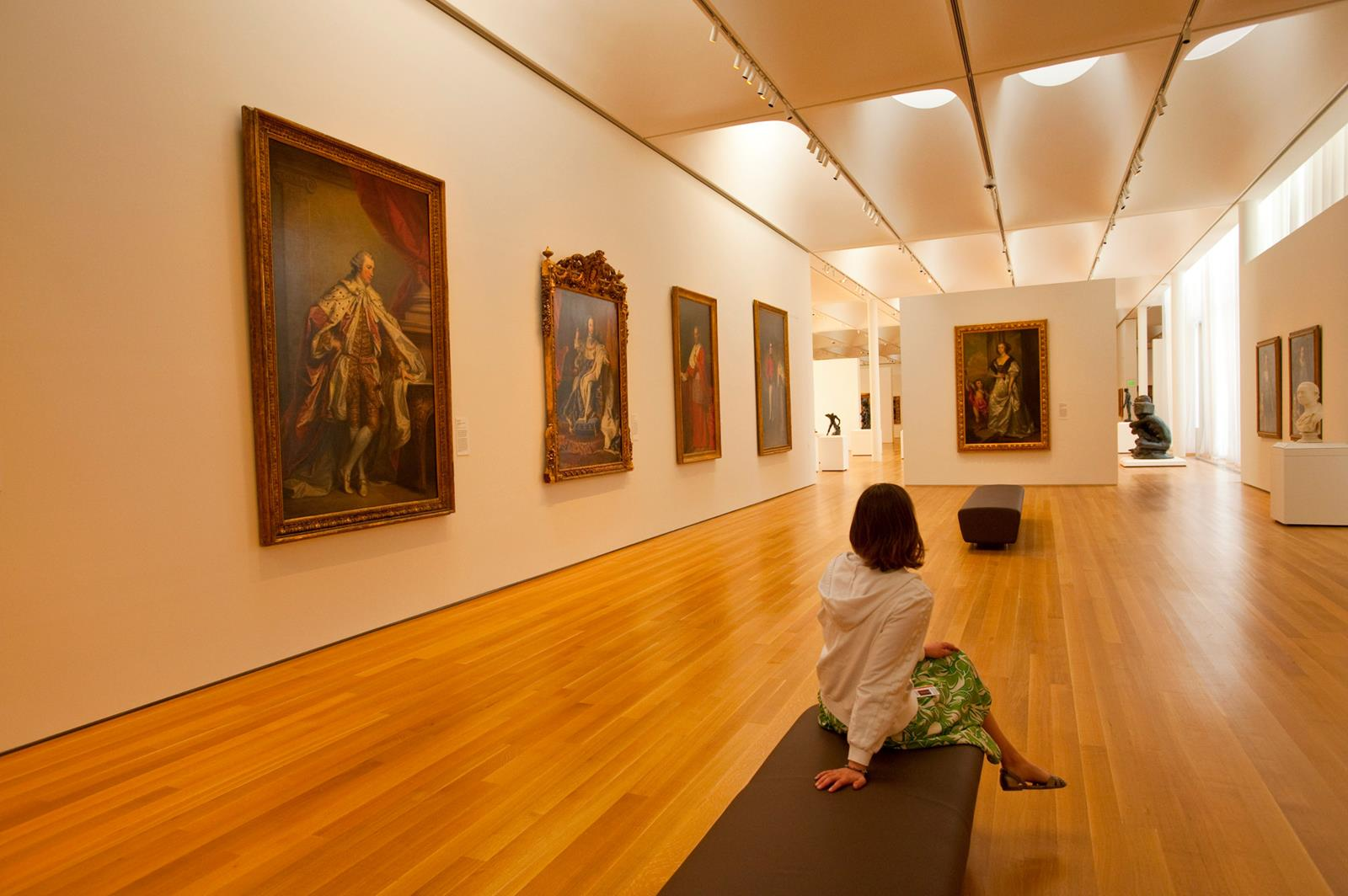 NC Museum of Art Woman Sitting Inside