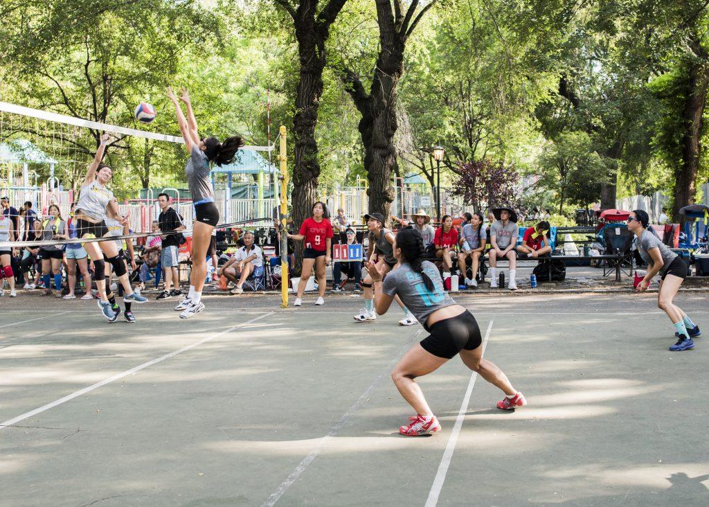 North American Chinese Invitational Volleyball Tournament Photo Courtesy of Rosanna U from Toronto Bats.