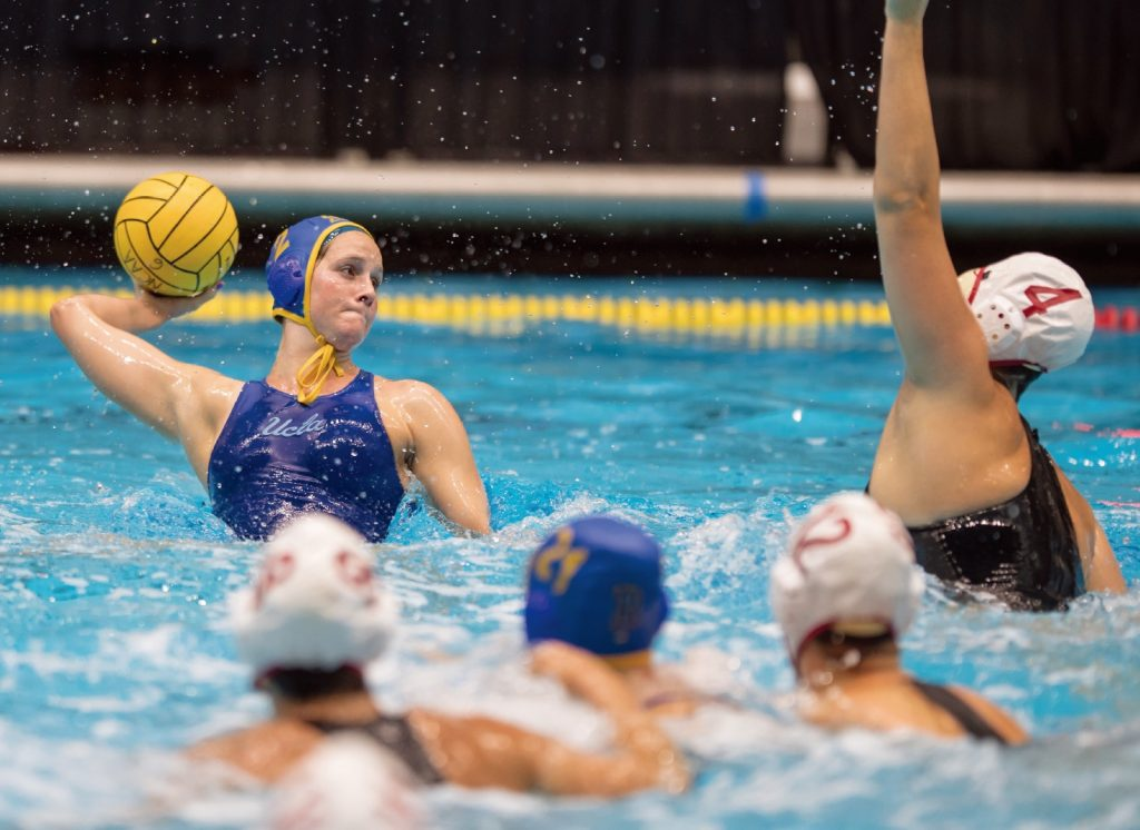 Indiana excels at a variety of aquatic sports including water polo. Photos courtesy of Indiana Sports Corp